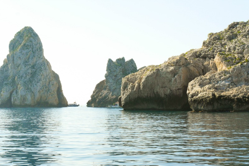 The Medes Islands of L'Estartit