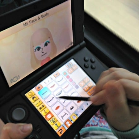 Creating Mii on Tomodachi Life by Nintendo