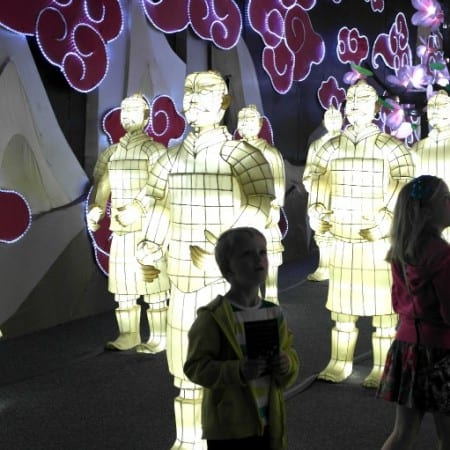 Blackpool Illuminasia - Terracotta Warriors in the Mysteries of China Zone