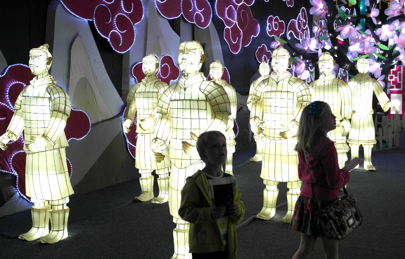 Blackpool Illuminasia light show