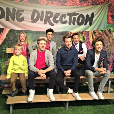 Madame Tussauds Blackpool One Direction