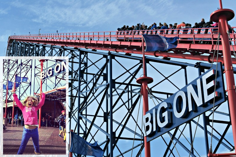 The Big One Rollercoaster at Blackpool Pleasure Beach