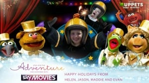 Sky Movies Christmas card