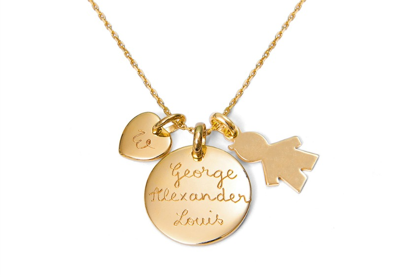 Kate Middleton's necklace from Merci Maman