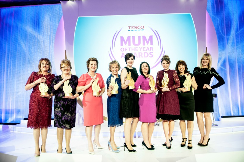 Tesco Mum of the Year Awards 2015 – the big day