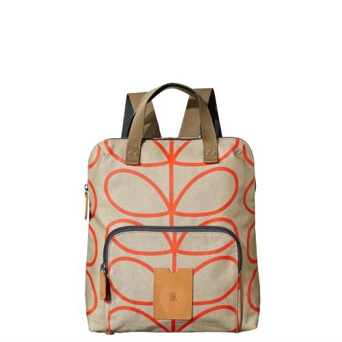 Orla Kiely Stone backpack