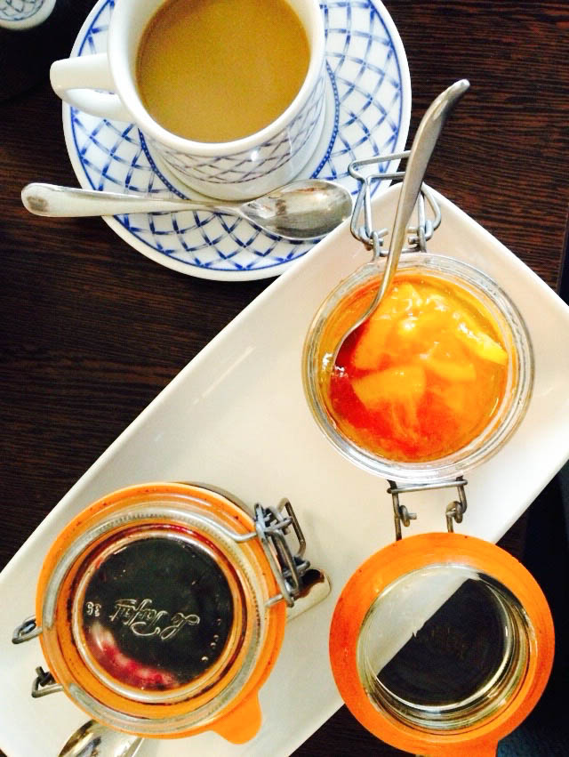 The homemade marmalade at Soar Mill Cove made for a fabulous breakfast.