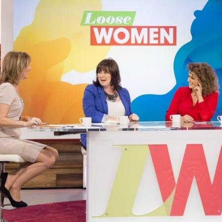An interview with Loose Women Nadia Sawalha and Kaye Adams