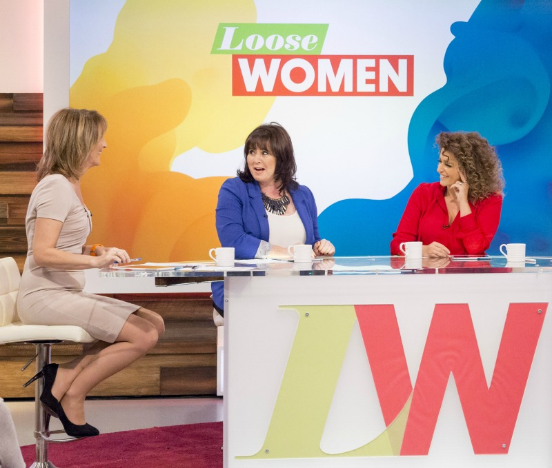 An interview with Loose Women Nadia Sawalha and Kaye Adams
