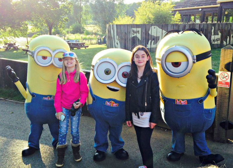 Meeting the Minions at Whipsnade Zoo #FrubesSleepover
