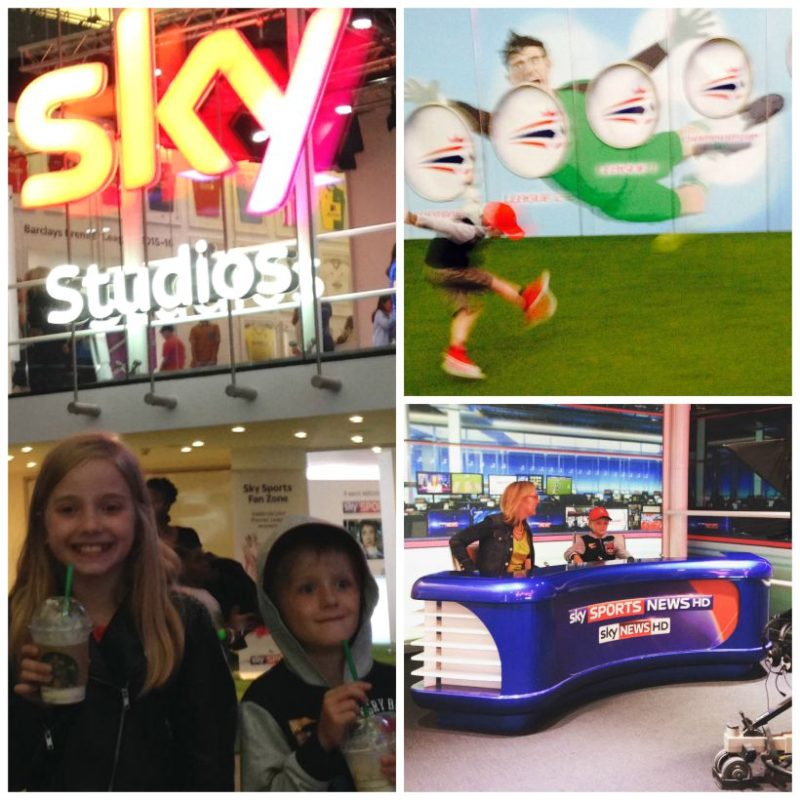 An hour at the Sky Studios at the O2 is a fascinating way to spend time with the kids - or the not so young!