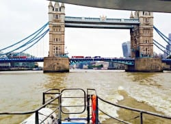 Seeing London from a boat's-eye-view gives you a whole new perspective on the capital