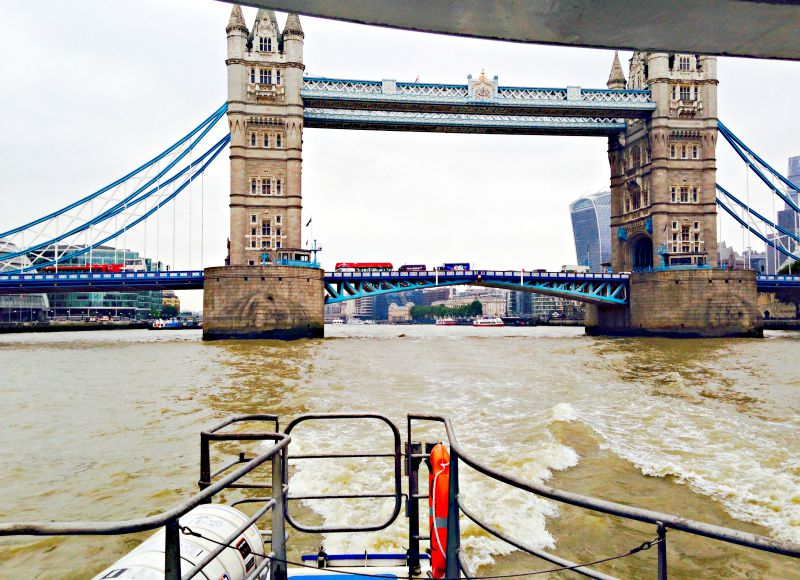 Travel: an Incredible Day aboard the Thames Clippers