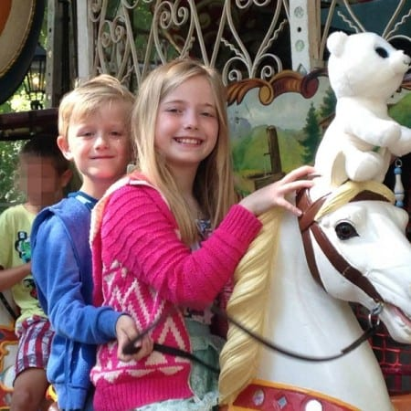 A lovely traditional carousel provides the centrepiece for the pancake house at Duinrell