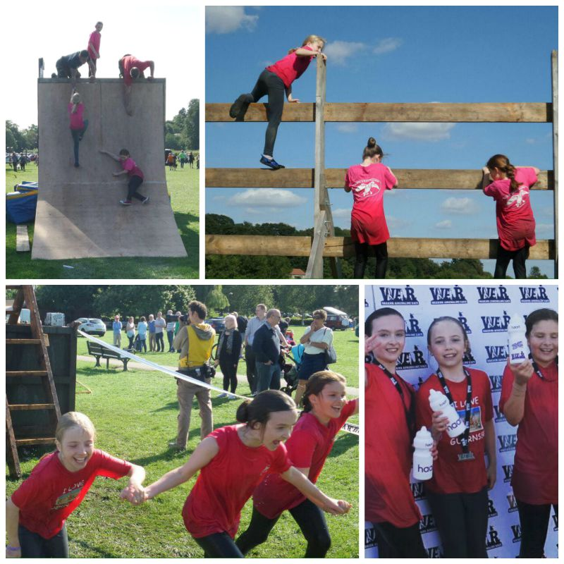 Warrior Adrenalin Race for Type 1 Diabetes research