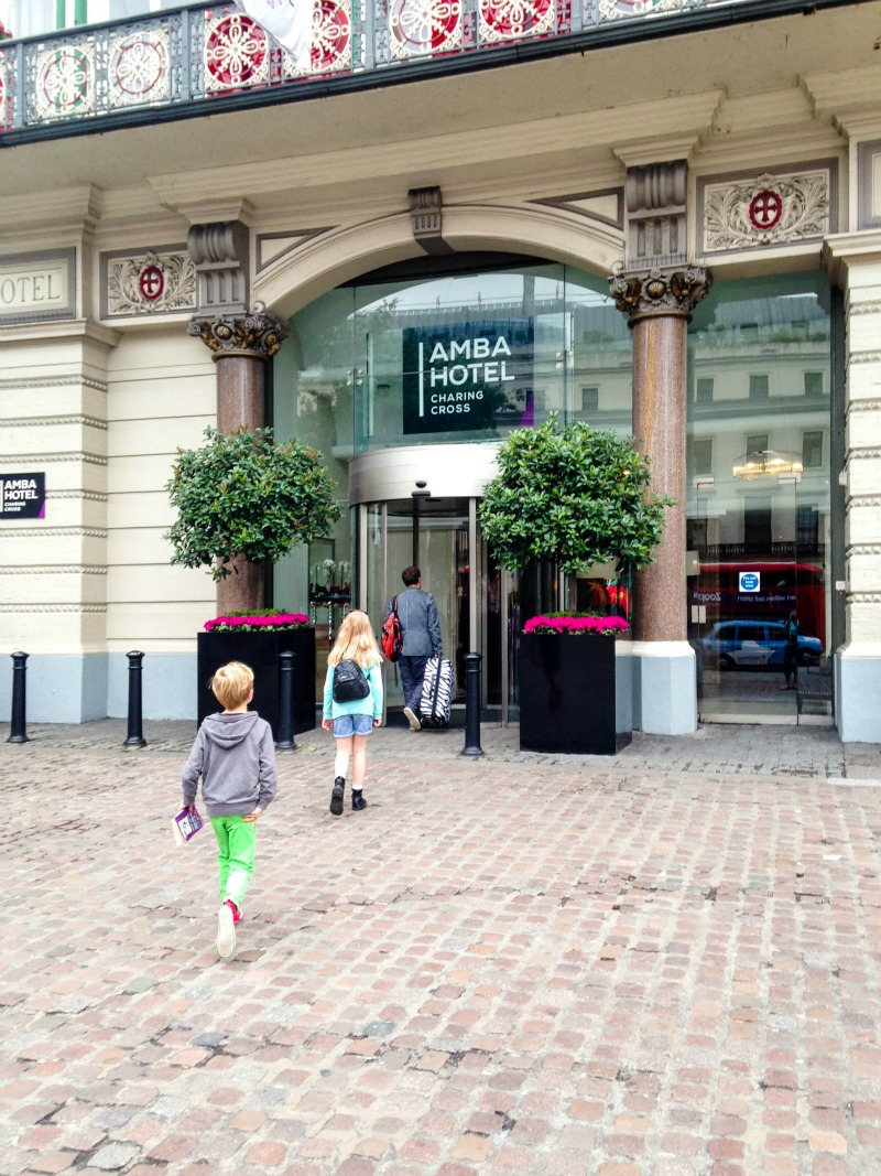 Review of the Amba hotel at Charing Cross in London's West End