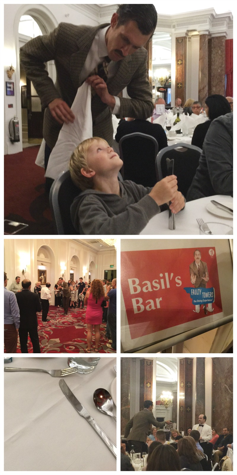 The Faulty Towers dining experience - how it was for a family