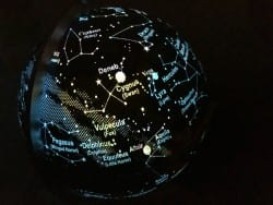 The Earth and Constellations globe is a must for any child who loves finding out about the stars