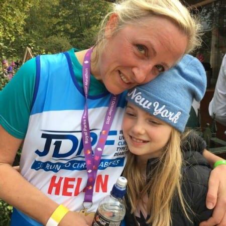 Raising money for JDRF, the Type 1 Diabetes charity