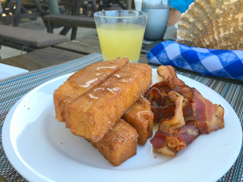 Restaurants at Beaches Negril: Stewfish do the most amazing cinnamon French toast!