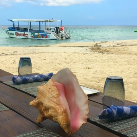 Stewfish, at Beaches Resorts Negril, is the most stunning location for a meal