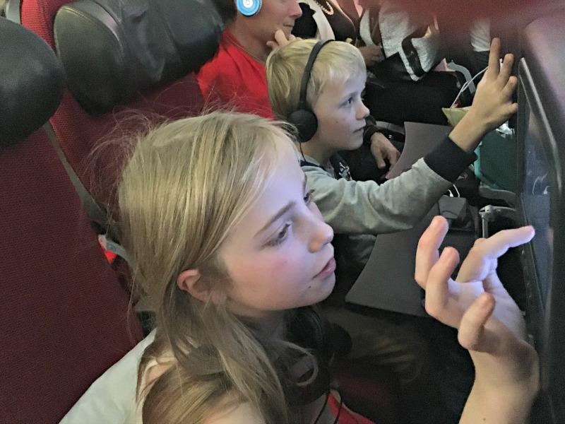 Vera in-flight entertainment