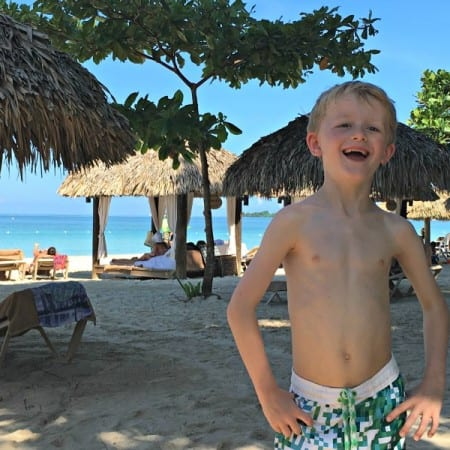 Best things for kids at Beaches Resorts Negril - the beach!