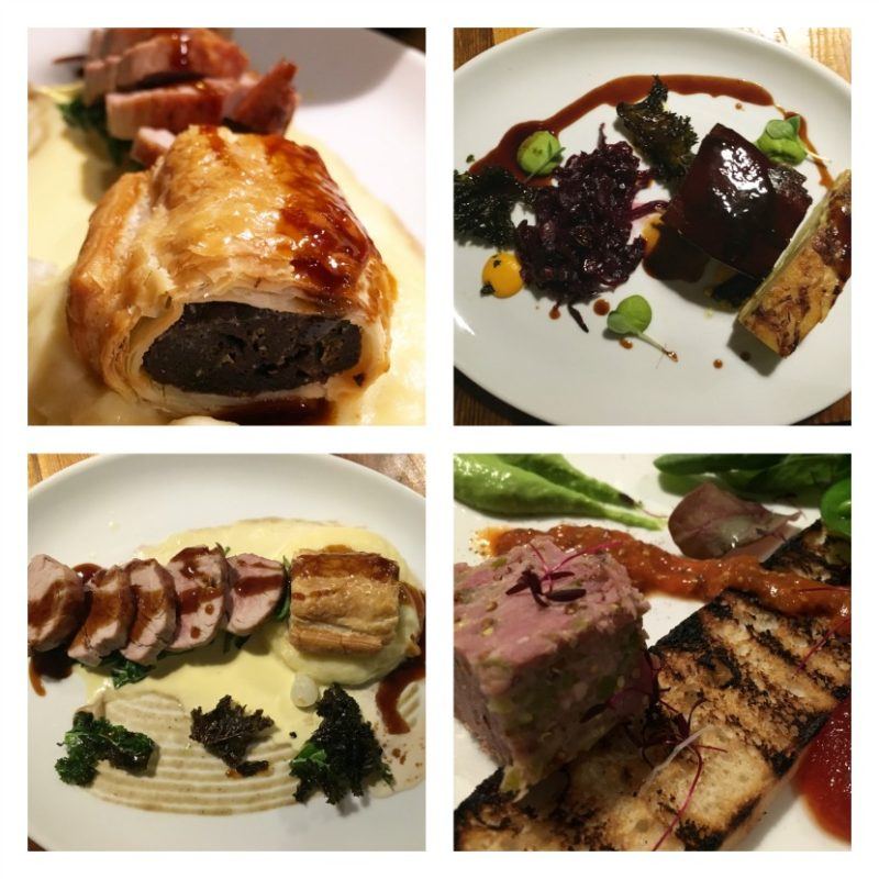 Delicious food at the Old Stocks Inn (review)