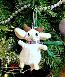 Mouse on Christmas tree