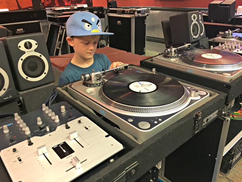 Best things for kids at Beaches Resorts Negril - Scratch DJ lessons