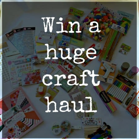 Guess the cost, and win my exclusive craft shopping haul with E.ON