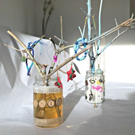 DIY craft Jewellery Tree