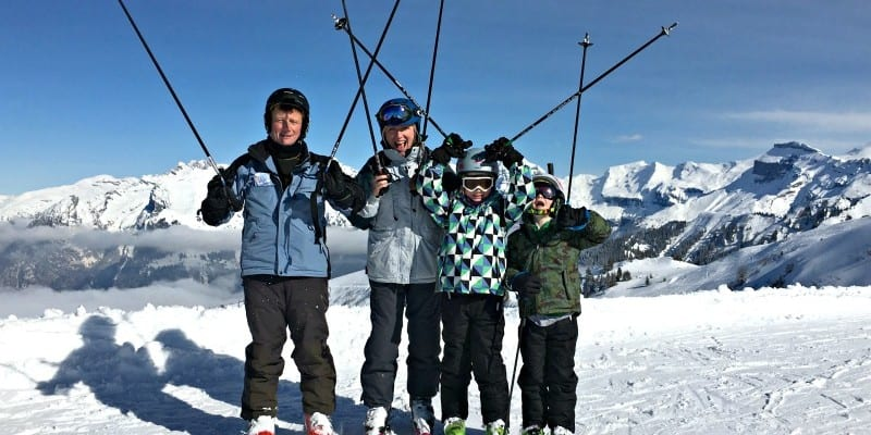 Travel: Keeping Kids Safe and Happy on a Family Ski Holiday