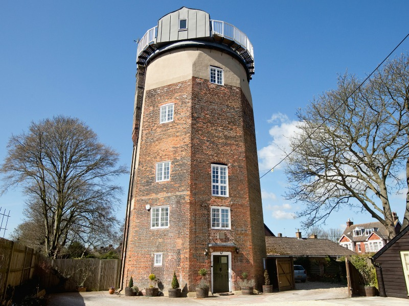 UK holidays inspired by books - The Windmill is a great place to stay if you want to learn about Roald Dahl