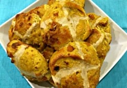 Easter baking: Moroccan spiced hot cross buns recipe