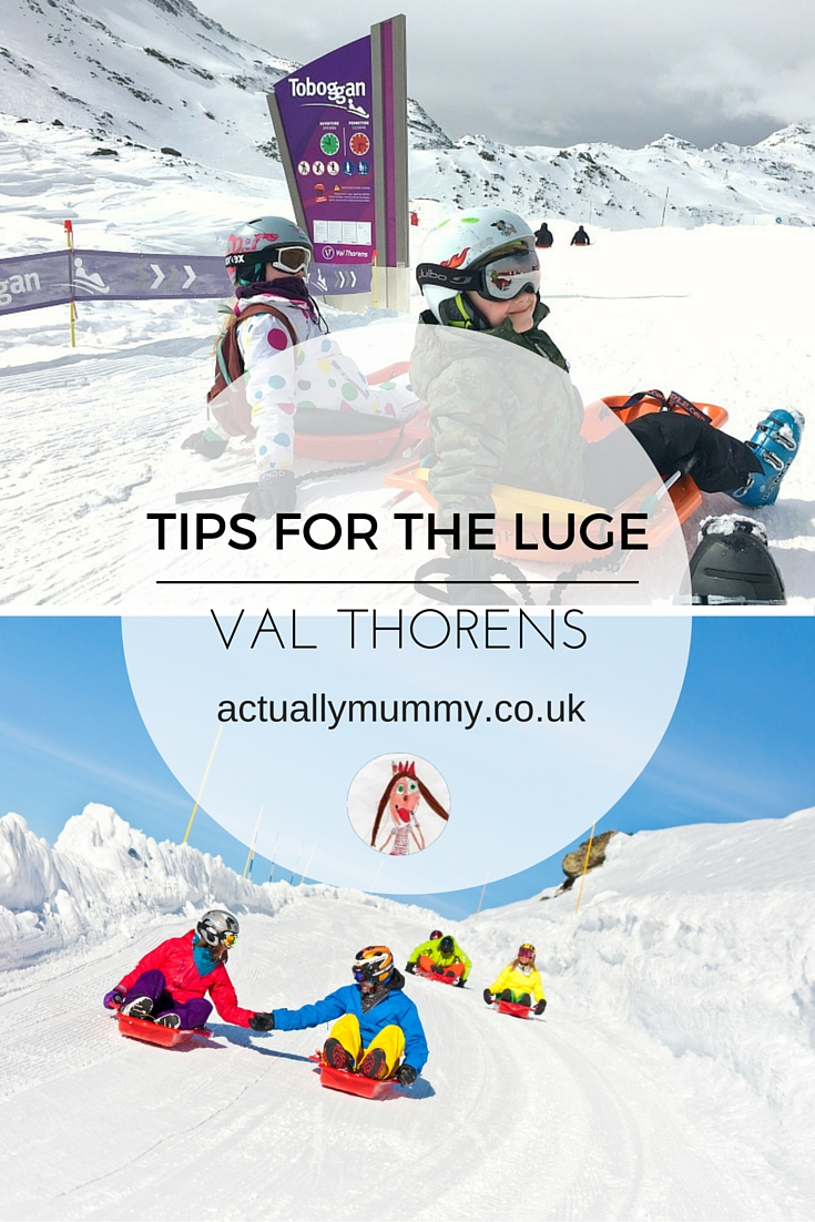 Tips for doing the Luge in Val Thorens