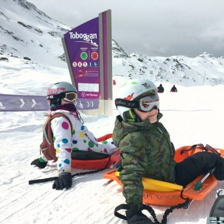 Tips for surviving the Luge toboggan run in Val Thorens