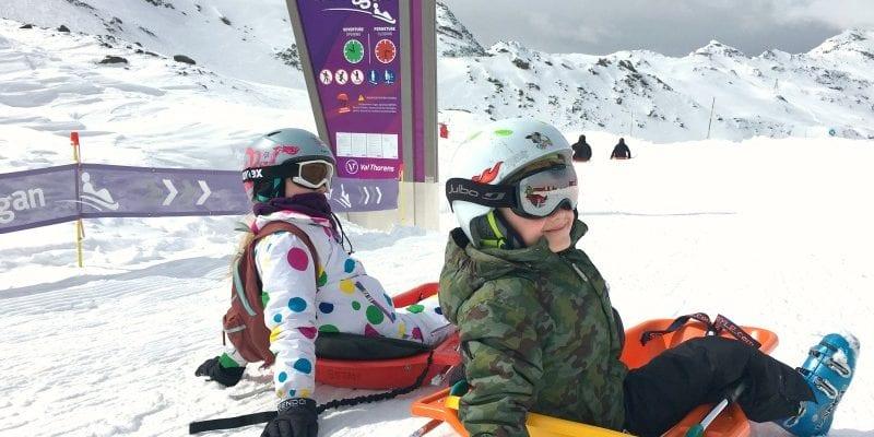 Ski: Tips for doing The Luge Toboggan Run in Val Thorens