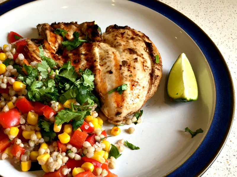 Mindful Chef recipe box review: the Butterflied jerk chicken with buckwheat was a total hit with the children