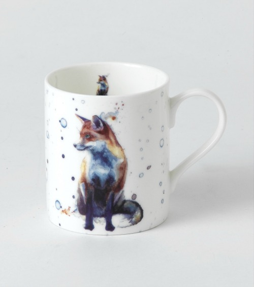 Gifts for girls: what could be better than a cup of tea from this pretty fox mug?