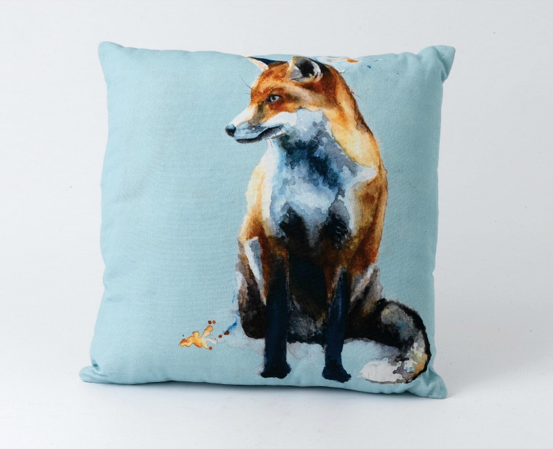 This gorgeous fox cushion is the perfect gift for girls