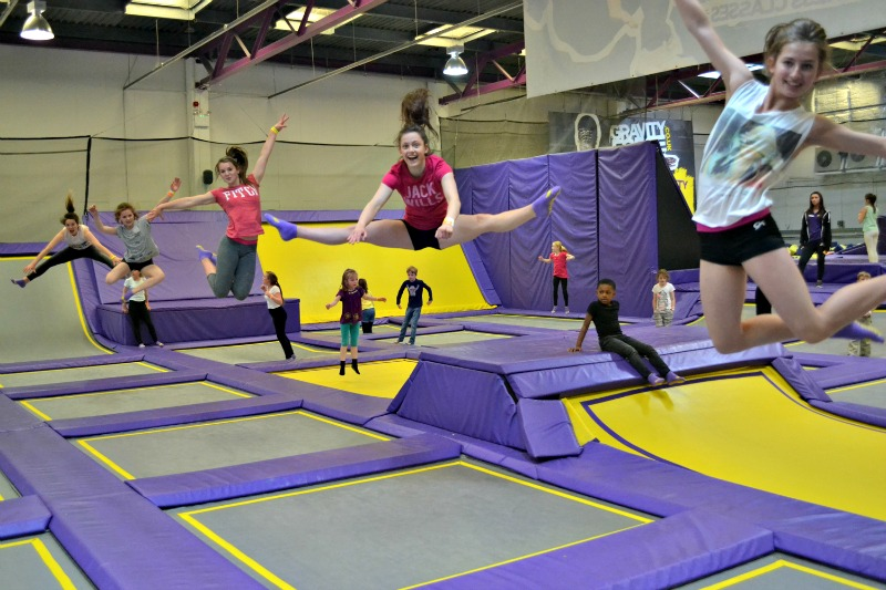 Trampolining is the new soft play! Gravity Force is a new trampoline park in St Albans that the whole family can enjoy.