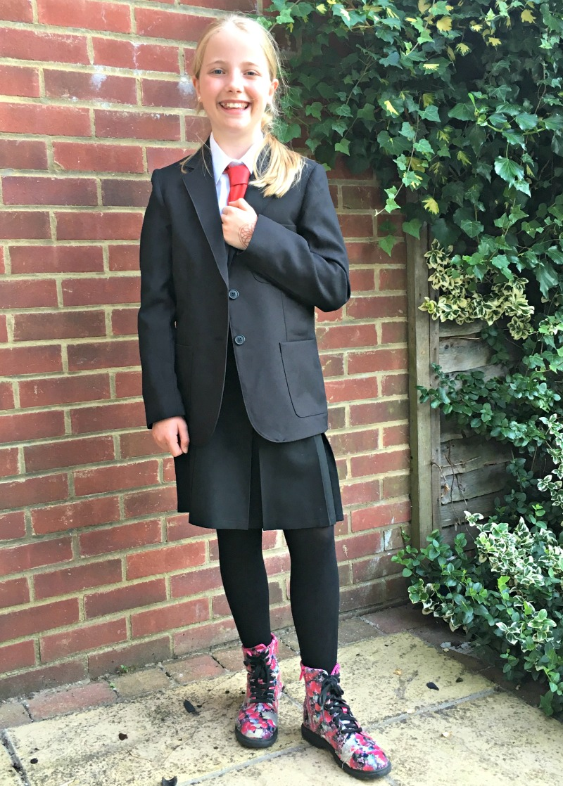 Secondary school uniform is often stricter than primary, but there are still ways to make it affordable