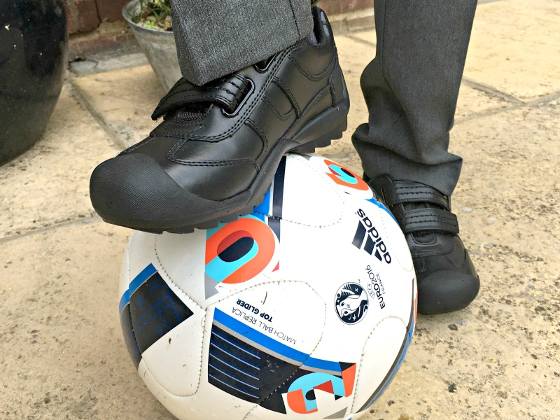 Boys school shoes need to be tough. Have you seen what boys get up to on the playground??