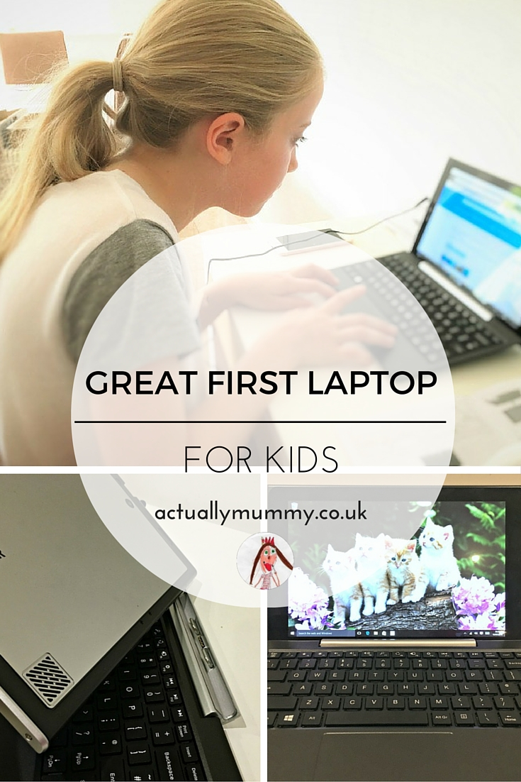 The Venturer BravoWin 2-in-1 laptop and tablet is a great affordable first computer for kids