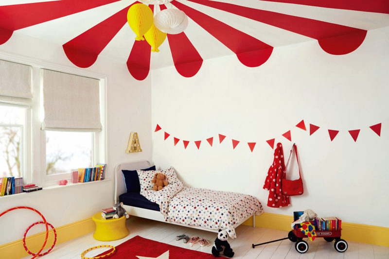 Happier children let them help decorate their bedrooms for Dulux childrens bedroom ideas