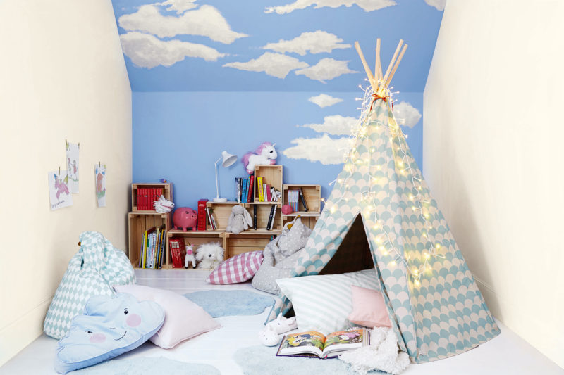 Happier children let them help decorate their bedrooms
