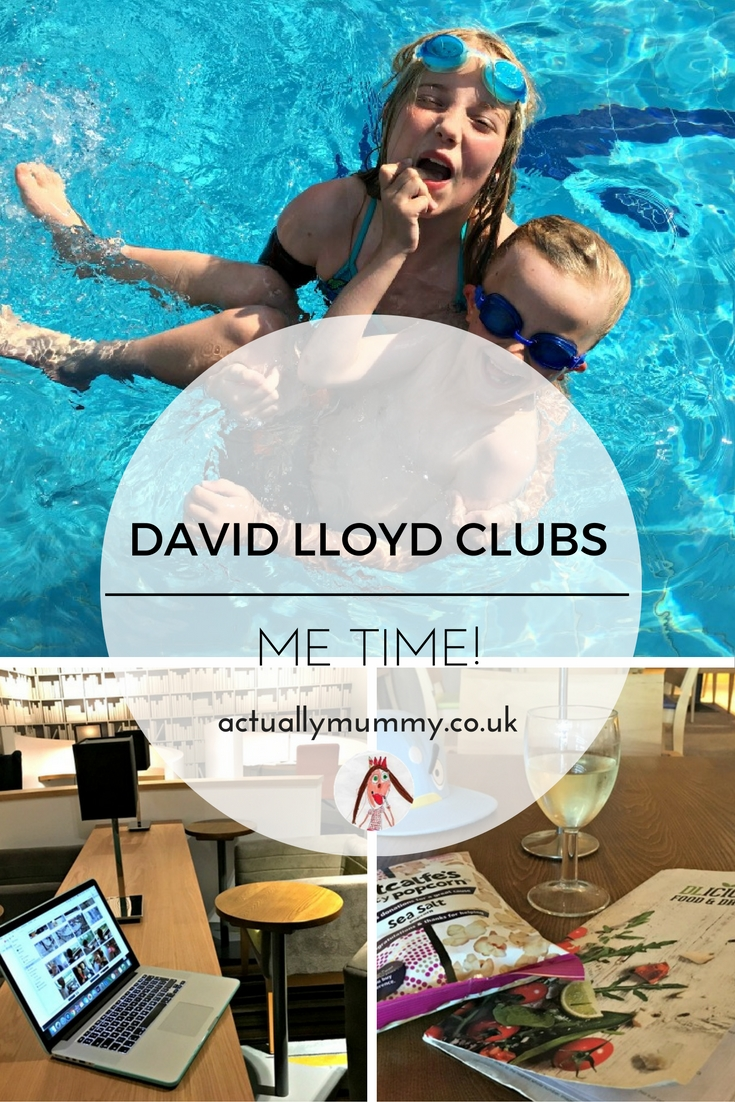 Joining a health club doesn't have to be all about fitness. I plan to use my David Lloyd membership to get some time out from the mayhem of parenting