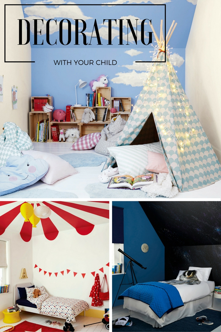getting your child involved in a summer bedroom makeover project will give him a real sense - Help Decorating Bedroom