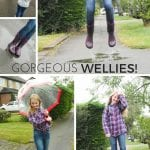 Gorgeous BOGS Wellies for a Rainy Photoshoot (review)